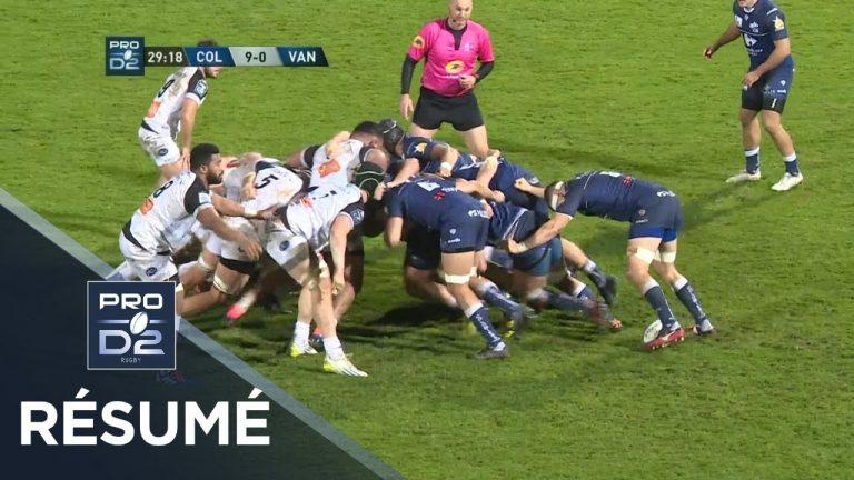 Rugby. Le RC Vannes prend l'eau à Colomiers (23-7)