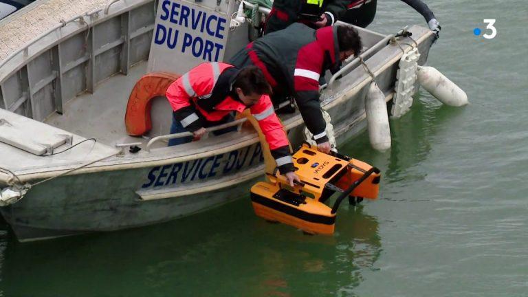 Plastique. Loire-Atlantique : le port de la Turballe s'équipe d'un robot nettoyeur