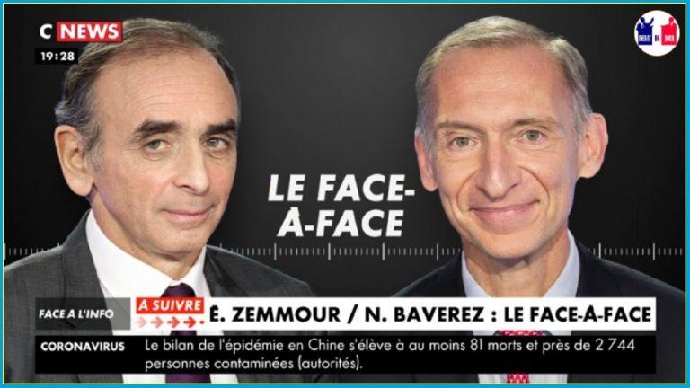 Éric Zemmour face à Nicolas Baverez : « L'invasion migratoire est un danger de mort pour les peuples européens »