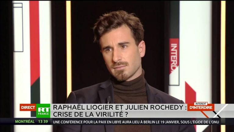 Julien Rochedy face à Raphaël Liogier (sociologue) sur la crise de la virilité