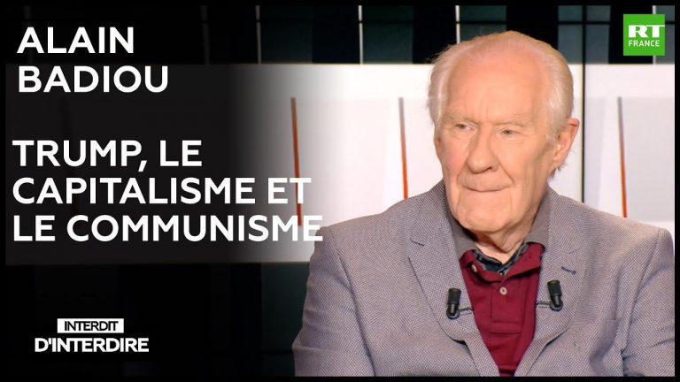 Trump, le capitalisme et le communisme, avec Alain Badiou