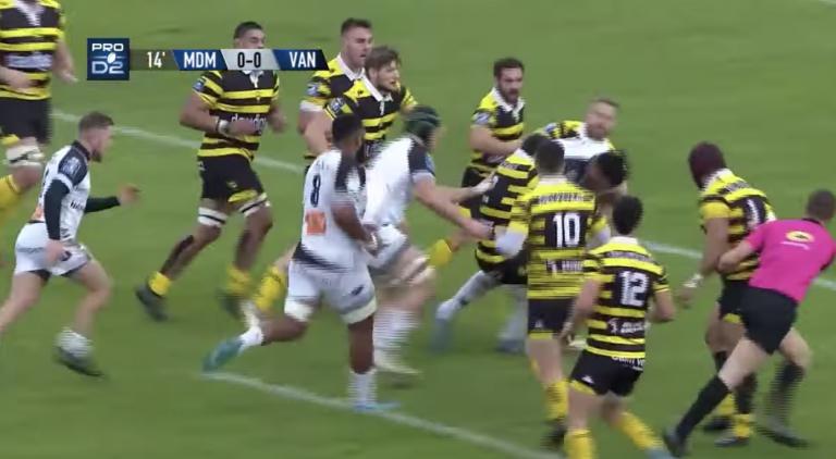 Rugby. Le RC Vannes réussit un super coup à Mont de Marsan (16-18)
