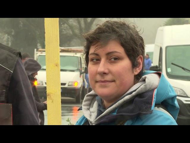 Contamination des huîtres au virus de la gastro : manifestation des ostréiculteurs à Auray