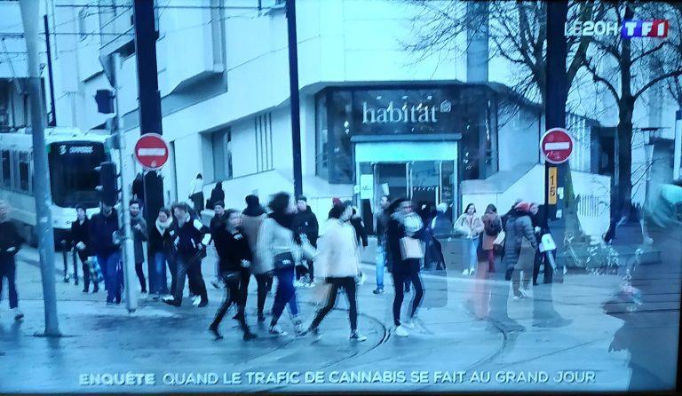 Nantes gangrenée par le trafic de drogue: TF1 en convient