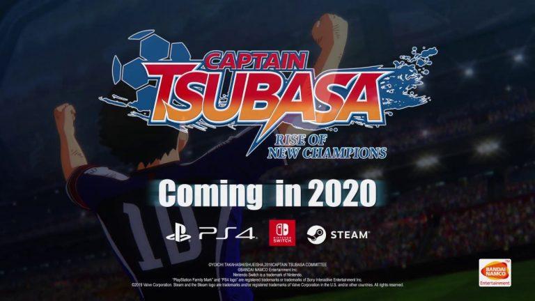Olive et Tom à la conquête des gamers avec <i>Captain Tsubasa : Rise of New Champions</i>