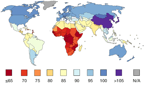Service public. L'instant détox s'intéresse à la carte mondiale des QI…et fait de l'intox !