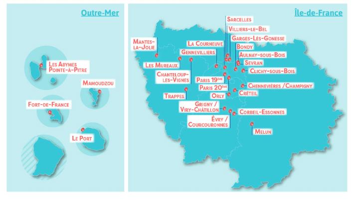 banlieues