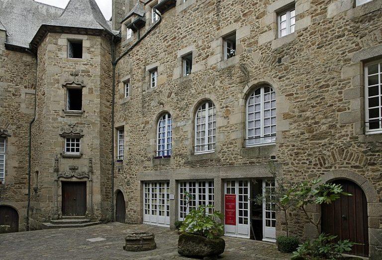 Dinan. Le château de La Garaye et l'hôtel Beaumanoir, demeures de la Renaissance