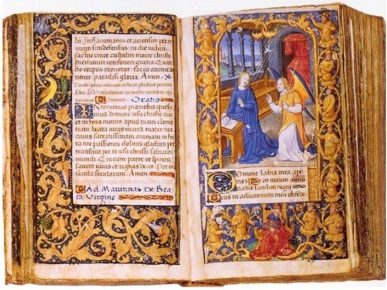 A découvrir, autour d'Anne de Bretagne, l'art de l'enluminure.