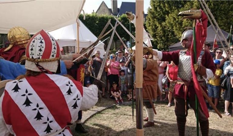 Henri Caporali (Les contes du Graal) : « Depuis 50 ans, les fêtes médiévales se sont multipliées en France »