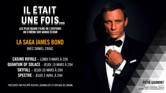 Cinéma. Il était une fois… la saga James Bond au cinéma à Brest, Rennes et Nantes