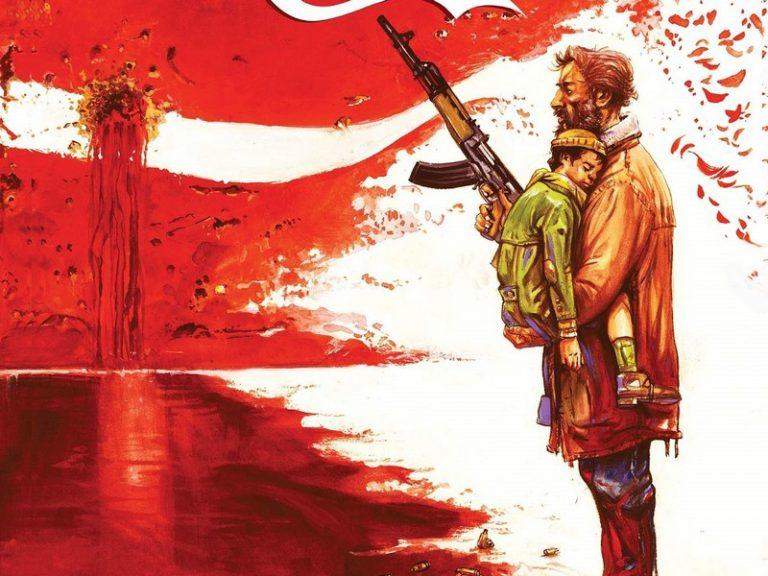 Bienvenue au Kosovo, la bande dessinée qui dénonce l'épuration ethnique des Serbes du Kosovo.