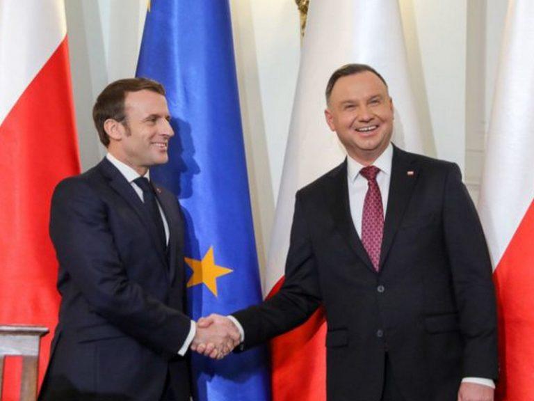 Emmanuel Macron en Pologne : intérêts partagés, mais visions opposées de l'UE post-Brexit