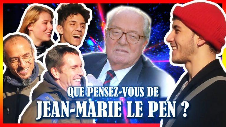 Micro-Connard #21. Que pensez-vous de Jean-Marie Le Pen ?