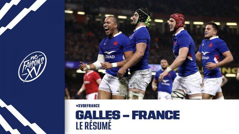 Tournoi des 6 nations (rugby). L'équipe de France s'impose au Pays de Galles, l'Angleterre et l'Ecosse gagnent aussi
