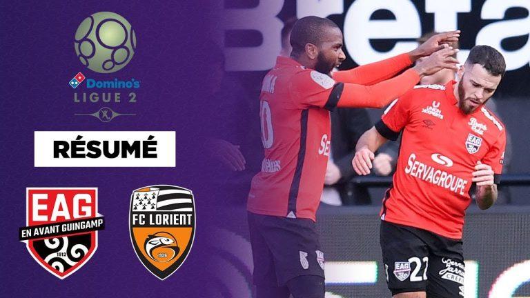 Football. EA Guingamp s'offre le derby breton de Ligue 2