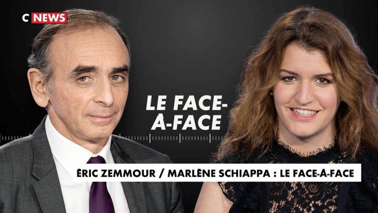Eric Zemmour face à Marlène Schiappa sur le Grand Remplacement, la discrimination