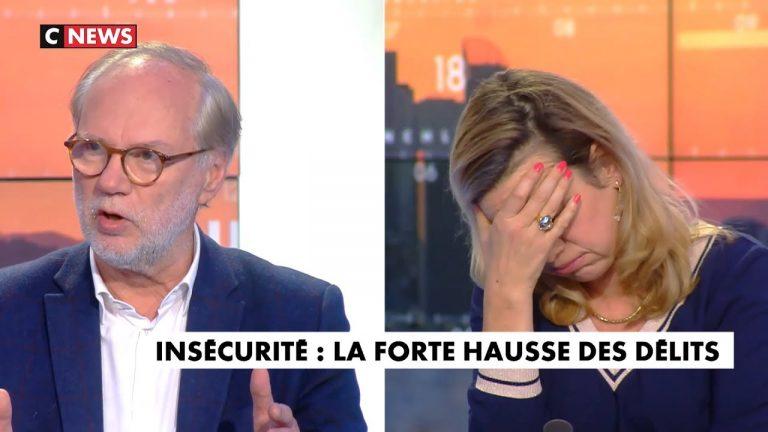 Tensions entre Gabrielle Cluzel et Laurent Joffrin qui nie les violences dans la société