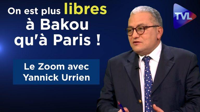 Yannick Urrien : On est plus libres à Bakou qu'à Paris !