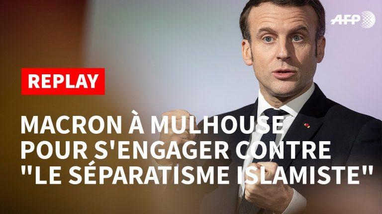 Lutte contre le séparatisme islamiste. L'intégralité du discours d'Emmanuel Macron à Mulhouse