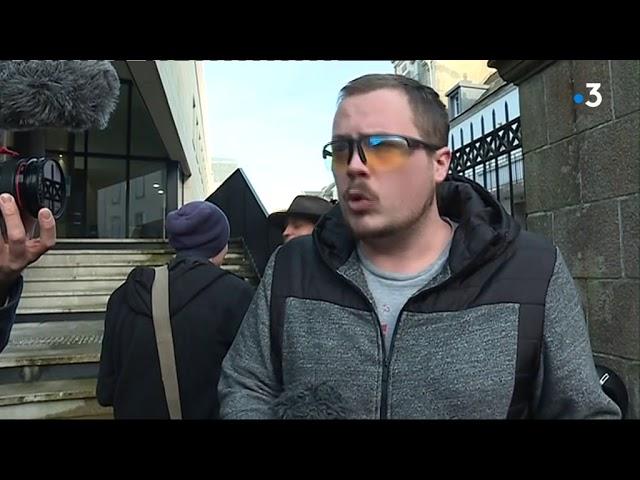 Le gilet jaune éborgné Gwendal Leroy devant le tribunal pour des dégradations. Audience reportée