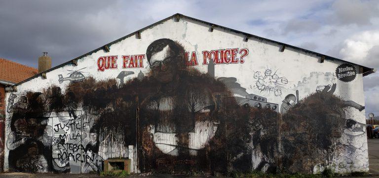 Nantes. La fresque en hommage à Steve dégradée