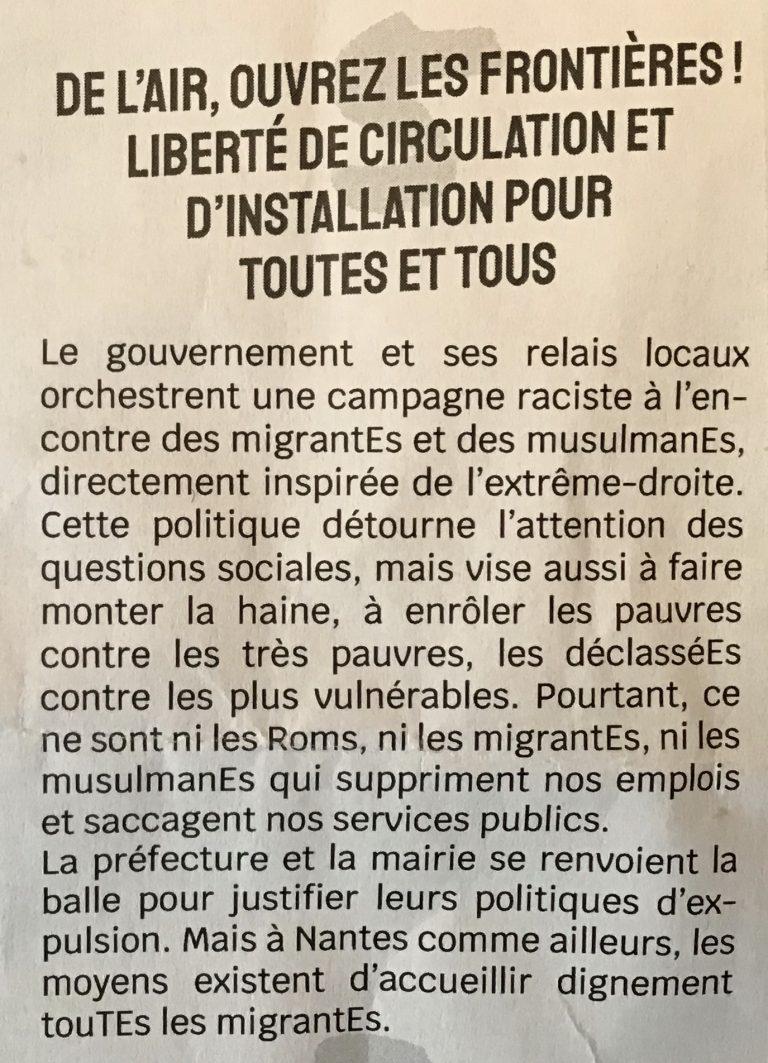 Nantes. Elle obtient des papiers à un migrant, il la séquestre et extorque sa carte bancaire
