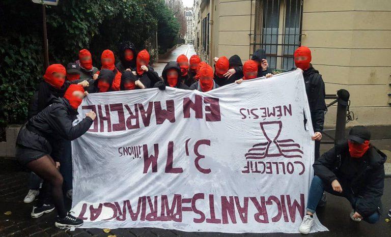 A Paris, des militantes féministes agressées physiquement par des Antifas