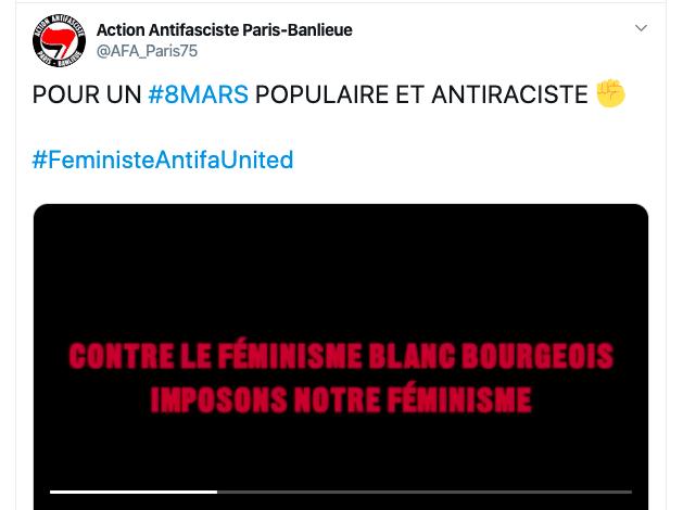 A Paris, la manifestation « féministe » était en réalité raciste et ségrégationniste