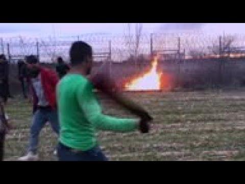 Grèce. Des centaines de migrants ont tenté d'attaquer l'Europe la nuit dernière