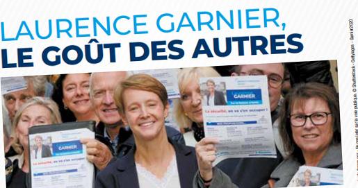 Municipales à Nantes: Laurence Garnier, une candidate plus gentille qu'à droite