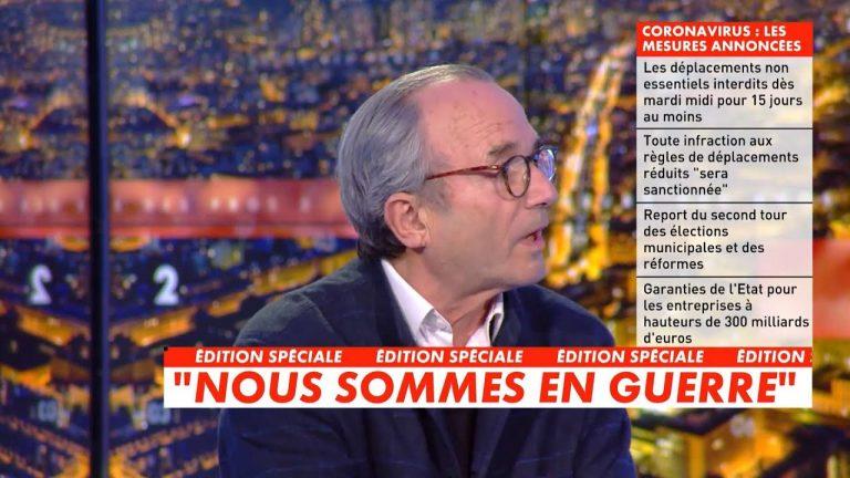 Ivan Rioufol en désaccord avec un publicitaire clairement pro-Macron