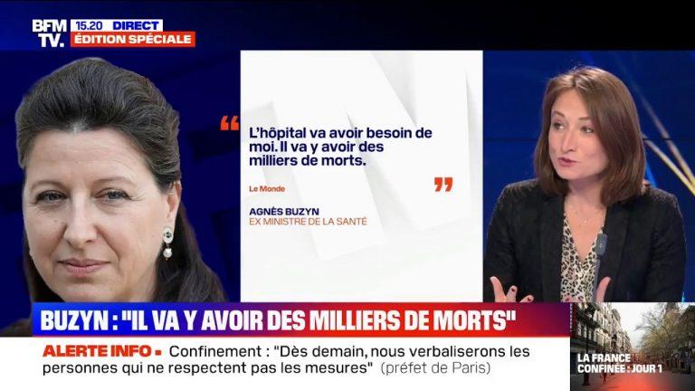 Les confessions accablantes d'Agnès Buzyn sur le Coronavirus. « Un crime sanitaire » pour NDA