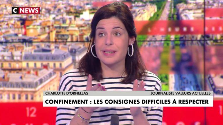 Charlotte d'Ornellas sur le confinement en banlieue : « L'union est impossible avec certains ». Sur le coronavirus : «L'exécutif nous ment »