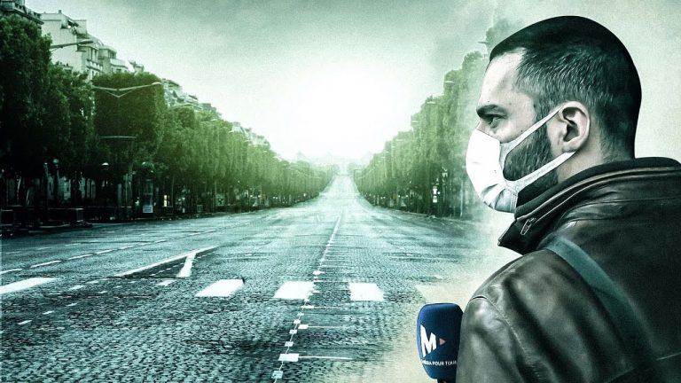 Vincent Lapierre au coeur du confinement à Paris [Reportage]