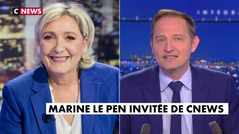 Marine Le Pen : « Ces gens ne respectent aucune loi, aucune autorité »