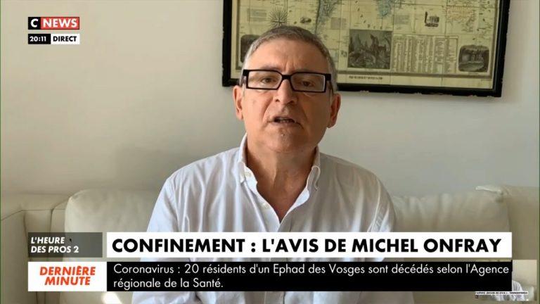 Michel Onfray : « Le gouvernement a choisi la pire stratégie sur le Coronavirus »