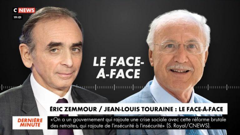 Eric Zemmour face à Jean-Louis Touraine (LREM) sur la PMA, la GPA, le Covid-19
