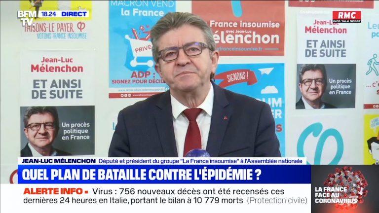 Jean-Luc Mélenchon : « Le déconfinement doit être planifié maintenant »