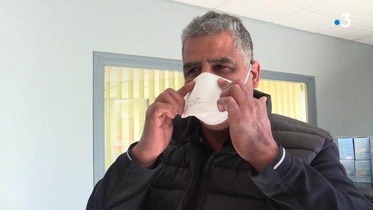 Coronavirus. Un chef d'entreprise découvre des masques FFP2 et en fait don au CHU de Nantes