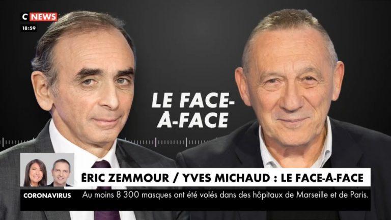 Zemmour face à Y. Michaud : « Le plug anal installé place Vendôme était une saloperie. Bravo à ceux qui l'ont détruit ! »