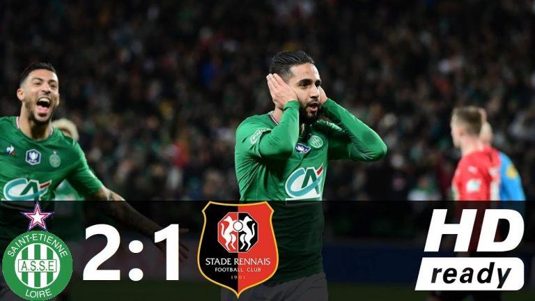 Football. Battu In Extremis par Saint-Etienne, le Stade Rennais éliminé de la Coupe de France