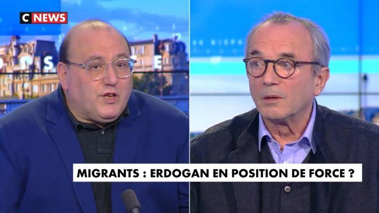 Ivan Rioufol recadre Julien Dray sur les migrants d'Erdogan : « Vous vouliez la Turquie dans l'UE »