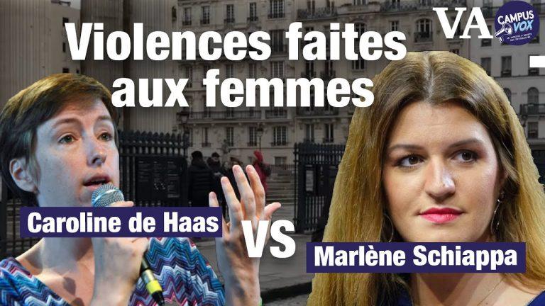 Violences faites aux femmes, vous êtes plutôt Caroline de Haas ou Marlène Schiappa ?