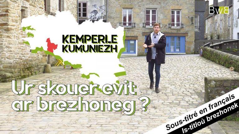 Bro Kemperle, ur skouer evit ar brezhoneg ? – 13 munud e Breizh – Brezhoweb