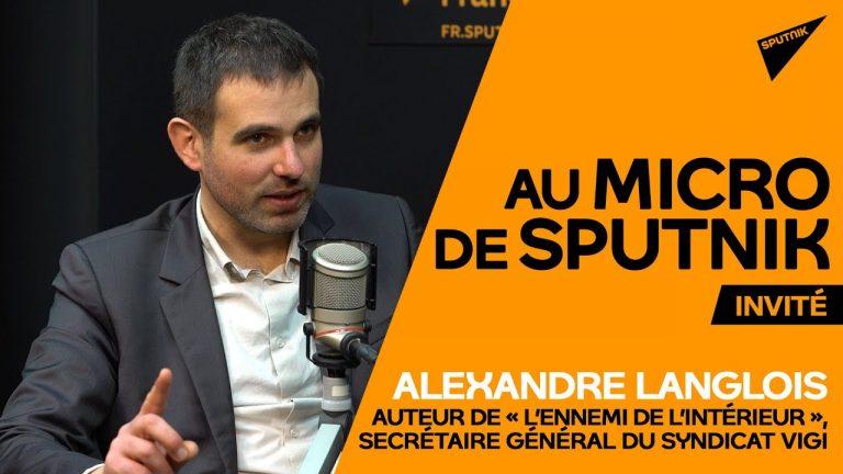 «Truquer les chiffres de la délinquance est un sport national en France », selon Alexandre Langlois