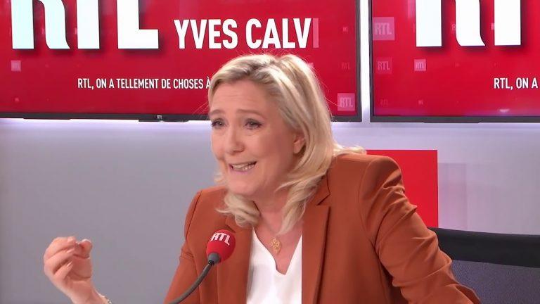 Marine Le Pen sur la Turquie et le chantage aux migrants : « Il faut envoyer des hommes pour aider les Grecs à tenir la frontière »