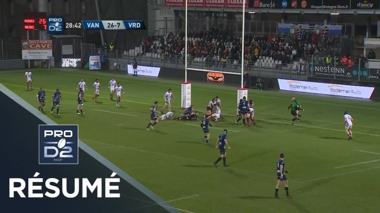 Rugby. Le RC Vannes mange Valence (47-21)