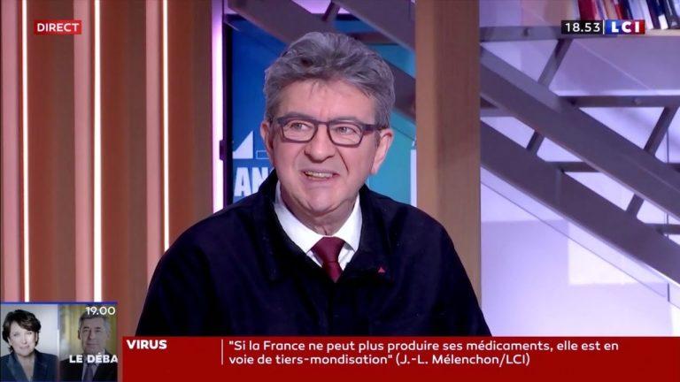 Article 49.3 et réforme des retraites : Pour Jean-Luc Mélenchon, « il faut une riposte populaire »