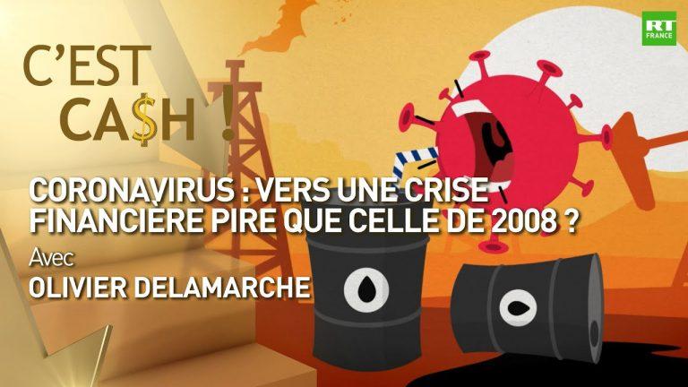 Coronavirus. Vers une crise financière pire que celle de 2008 ?